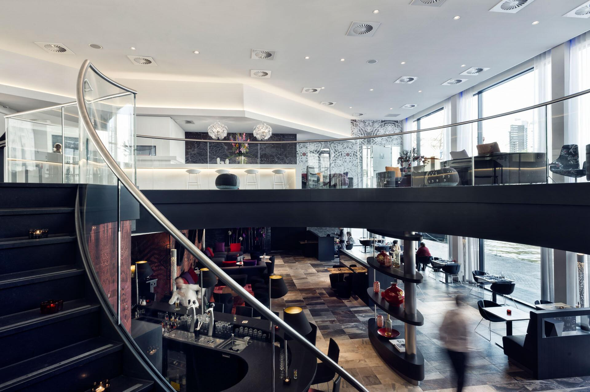 design hotel mainport rotterdam zenber architecten
