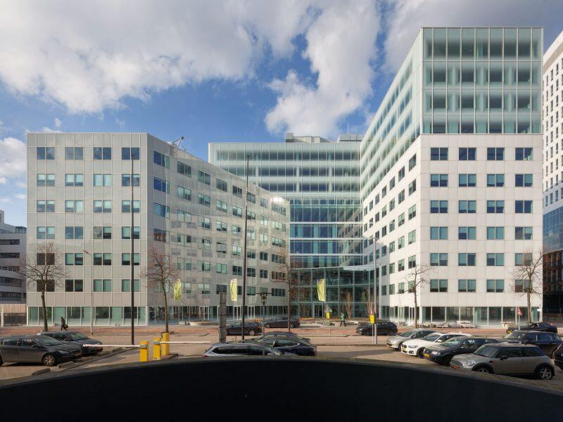 Hoofdkantoor Croonwolter&dros in het MM25 gebouw in Rotterdam.