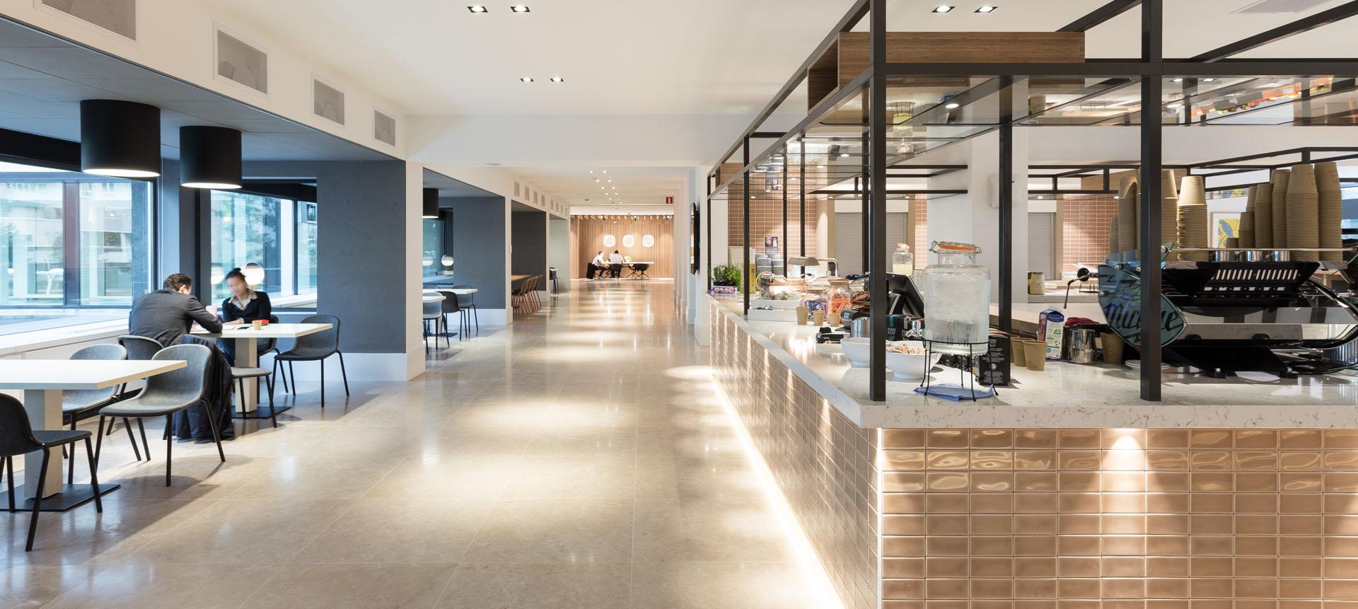 ZENBER Architecten ontwerpt bedrijfsrestaurant voor Nationale Nederlanden