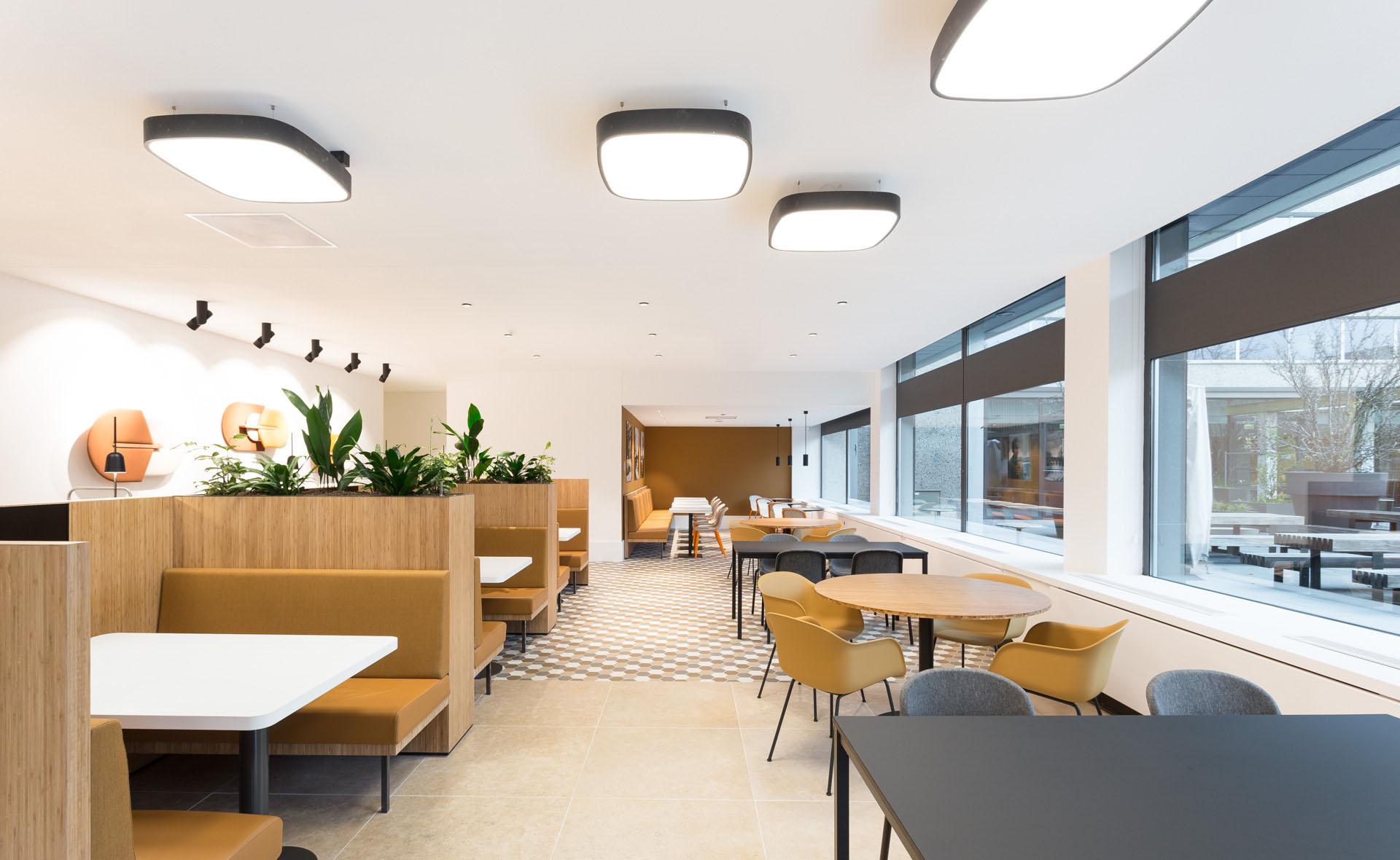 ZENBER Architecten ontwerpt bedrijfsrestaurant Nationale-Nederlanden
