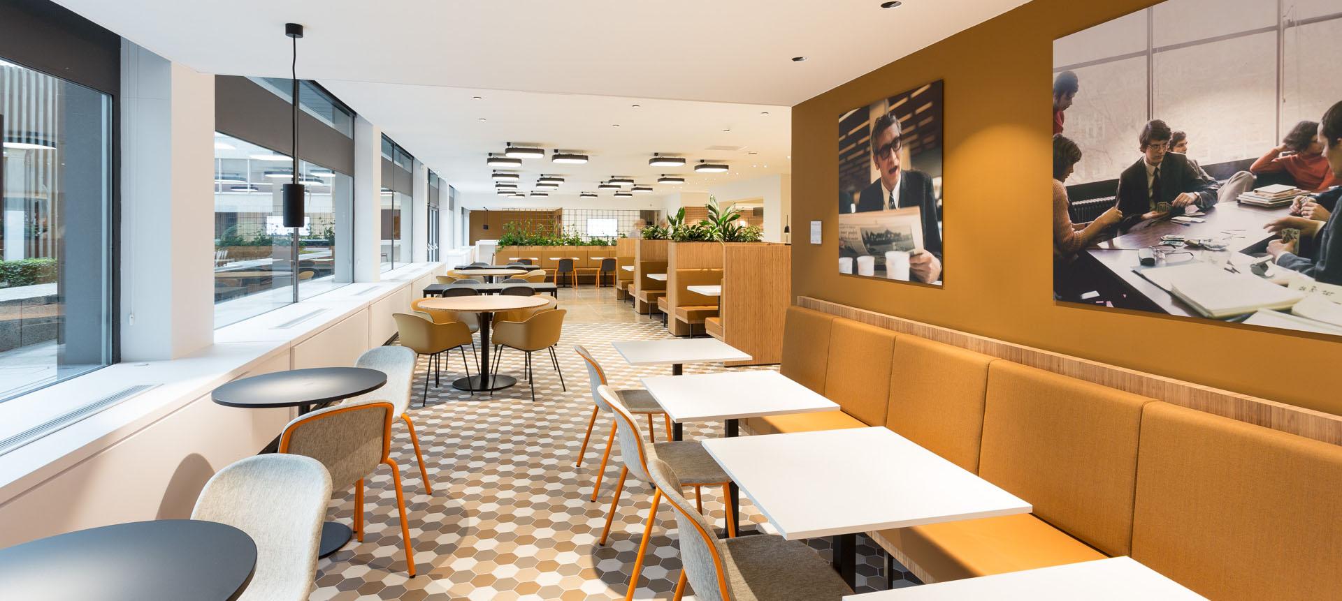 ZENBER Architecten ontwerpt bedrijfsrestaurant voor Nationale-Nederlanden